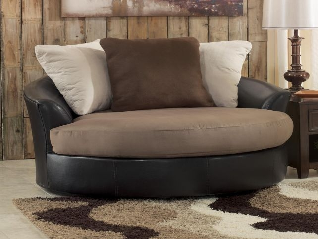Round Swivel Lounge Chair Best Chair Design Ideas most certainly throughout Spinning Sofa Chairs (Image 12 of 20)