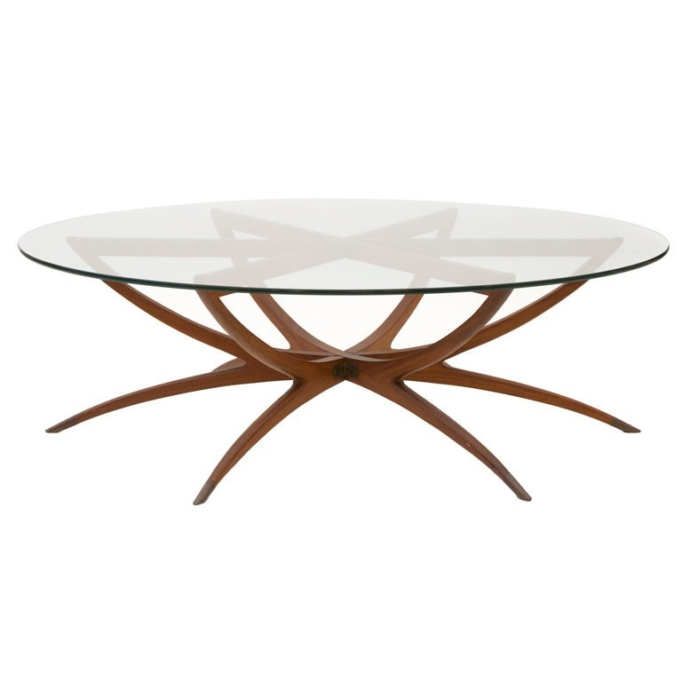 Round Wood And Metal Coffee Table Round Glass Coffee Table Wood nicely for Round Glass and Wood Coffee Tables (Image 15 of 20)