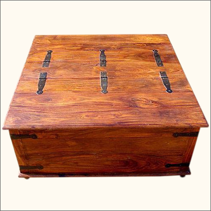 Rustic Chest Coffee Table Plans very well pertaining to Dark Wood Chest Coffee Tables (Image 19 of 20)
