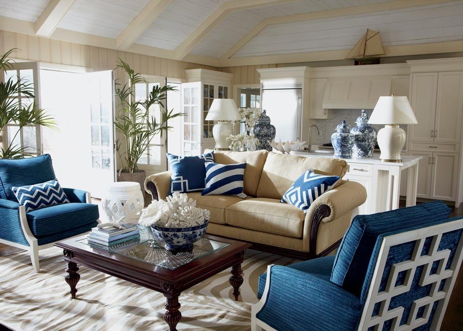 Sea Breeze Living Room Ethan Allen properly pertaining to Ethan Allen Sofas And Chairs (Image 11 of 20)