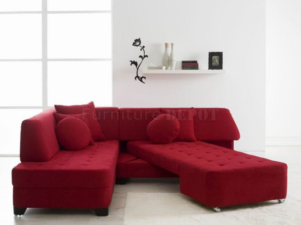 Sectional Sofa Charming Red Sectional Sleeper Sofa 81 In Albany certainly regarding Red Sectional Sleeper Sofas (Image 14 of 20)