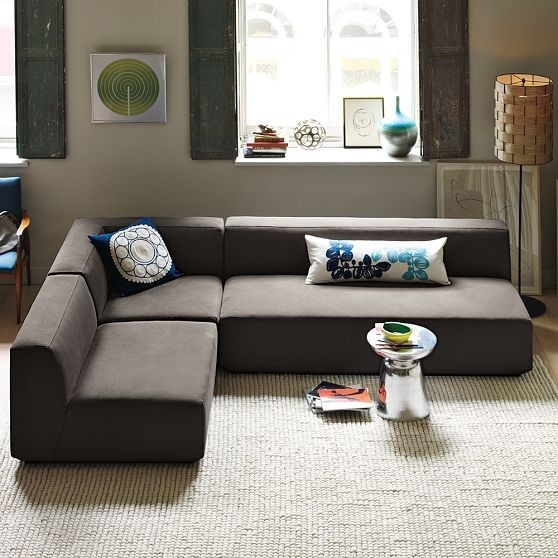 Sectional Sofa Deals Homesfeed nicely with regard to Armless Sectional Sofas (Image 16 of 20)