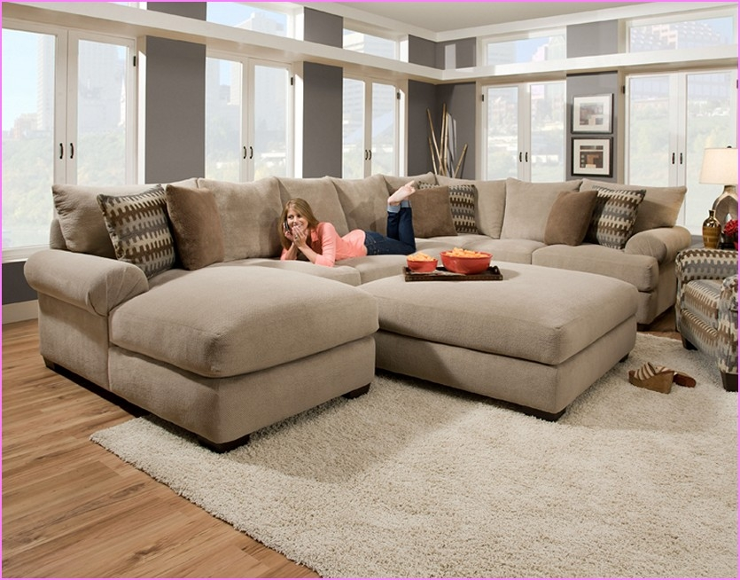Sectional Sofa Design Small Brown Creamy Pillows Detachable Good Pertaining  To Sectional Sofas Under 600 (