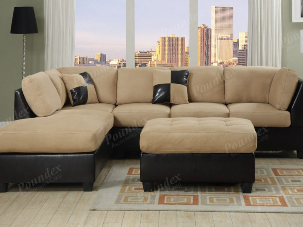 Sectional Sofa Remarkable Cheap Sofas And Sectionals 13 About certainly pertaining to Abbyson Living Charlotte Beige Sectional Sofa and Ottoman (Image 17 of 20)