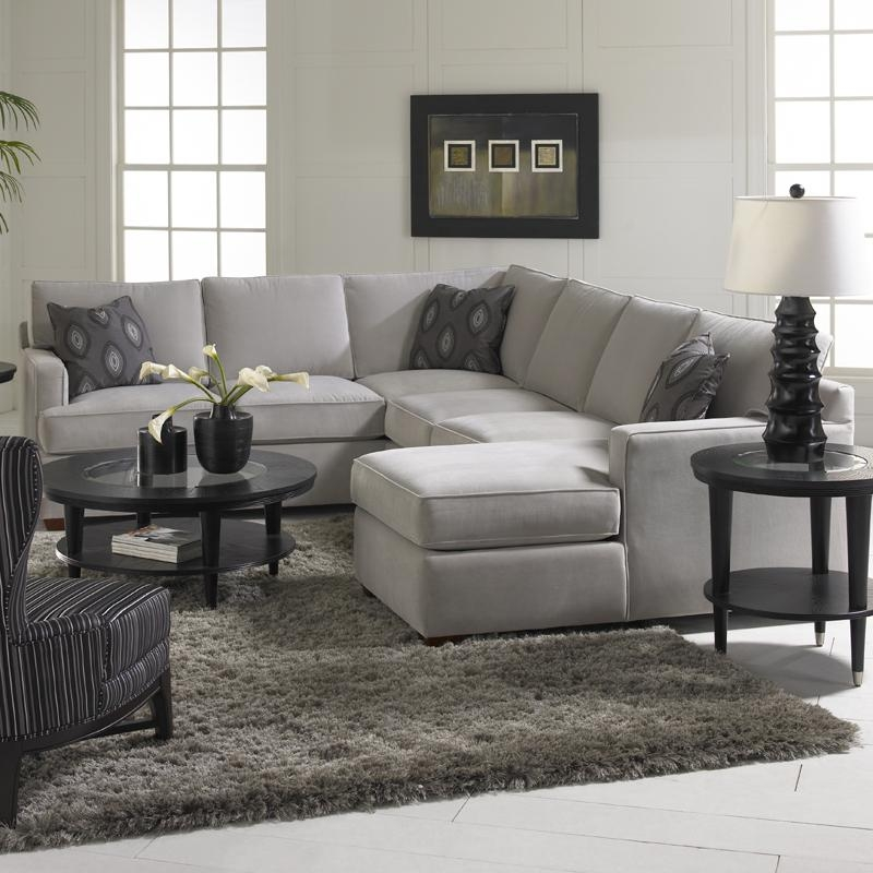 Sectional Sofa With Chaise Lounge Klaussner Loomis Group Wayside E perfectly with regard to Sofas With Chaise Longue (Image 15 of 20)