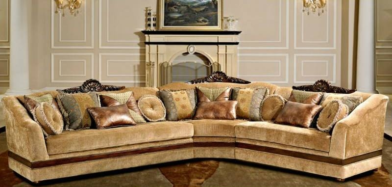 Sectional Sofas West Coast Furniture Outlet Store clearly within Chenille And Leather Sectional Sofa (Image 13 of 20)