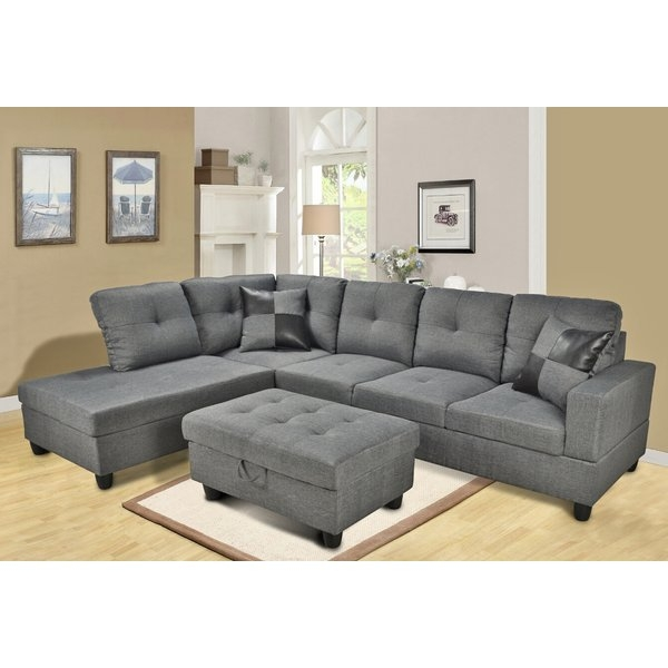 Sectional Sofas Youll Love Wayfair clearly in Extra Wide Sectional Sofas (Image 12 of 20)