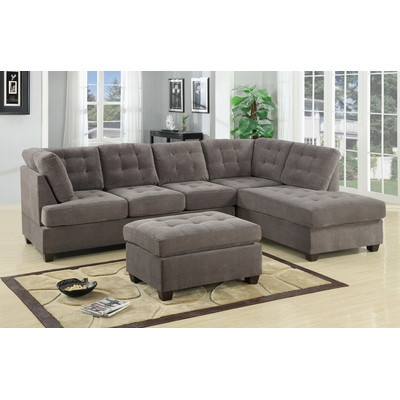 Sectional Sofas Youll Love Wayfair Effectively Inside Cozy Sectional Sofas (View 16 of 20)