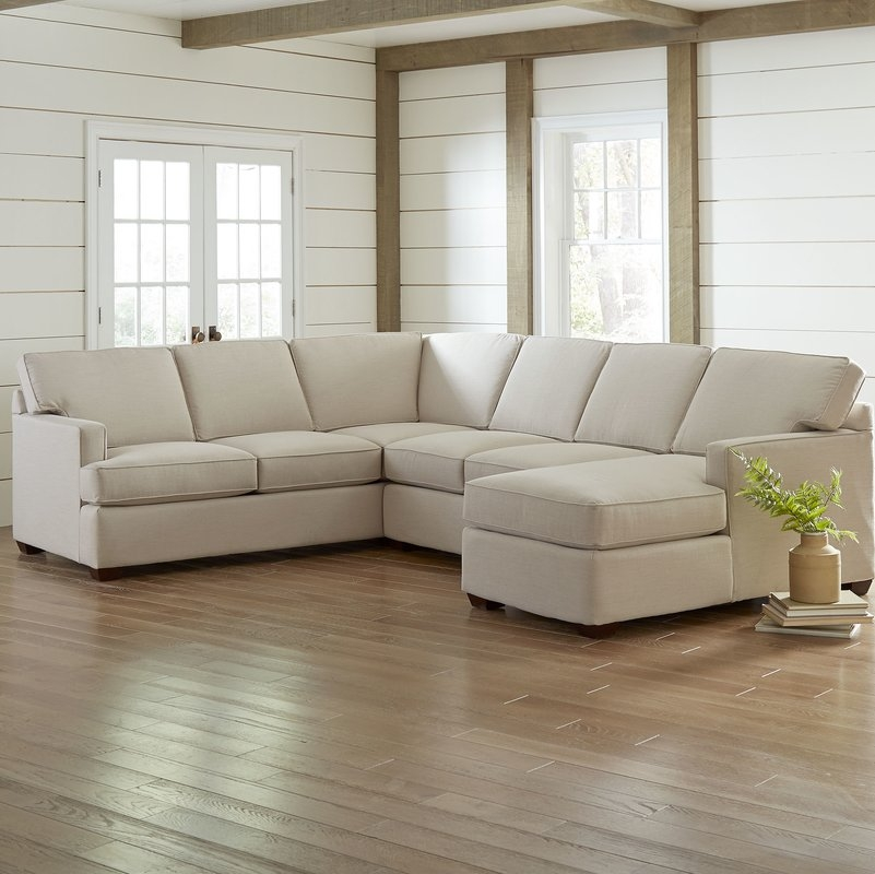 Sectional Sofas Youll Love Wayfair Well Intended For Cozy Sectional Sofas (View 17 of 20)