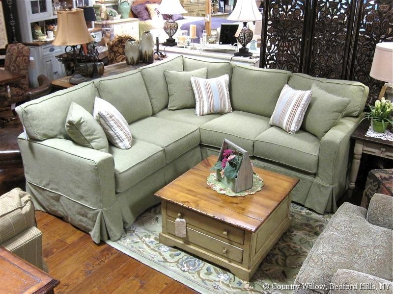 Sectionals Country Willow clearly with regard to Country Style Sofas And Loveseats (Image 15 of 20)