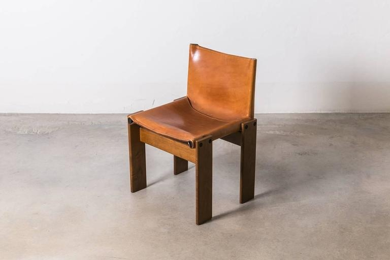 Set Of Six Monk Chairs Afra And Tobia Scarpa 1974 Italy At nicely within Monk Chairs (Image 18 of 20)