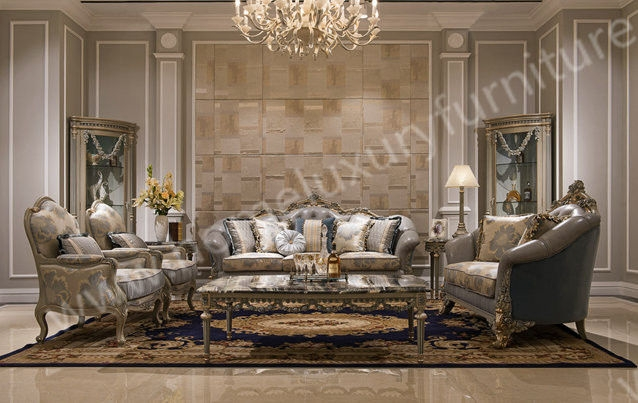 Set Sofa Hot Sale In Furniture Fair Classic Italian Style Sofa good with Classic Sofas For Sale (Image 18 of 20)