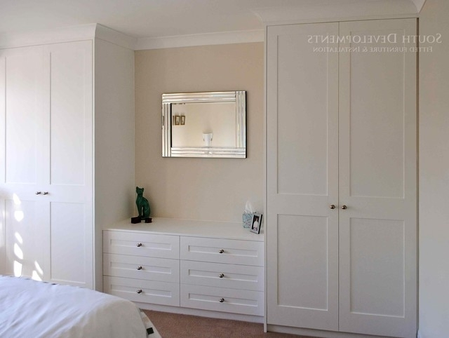 Shaker Style Fitted Wardrobes Chest Of Drawers Traditional certainly pertaining to Drawers For Fitted Wardrobes (Image 10 of 30)