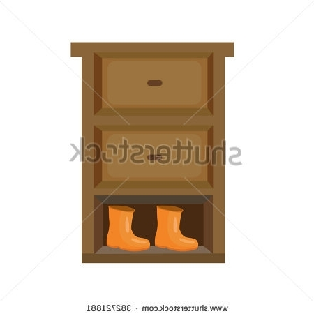 Shoe Rack Stock Images Royalty Free Images Vectors Shutterstock certainly with regard to Wardrobe With Shelves And Drawers (Image 18 of 30)