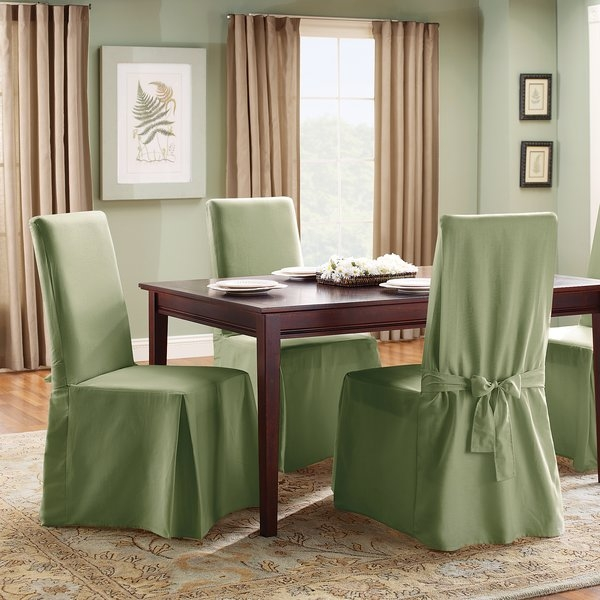 Shop Chair Covers And Sofa Covers Slipcovers Youll Love Wayfair well pertaining to Covers For Sofas And Chairs (Image 18 of 20)