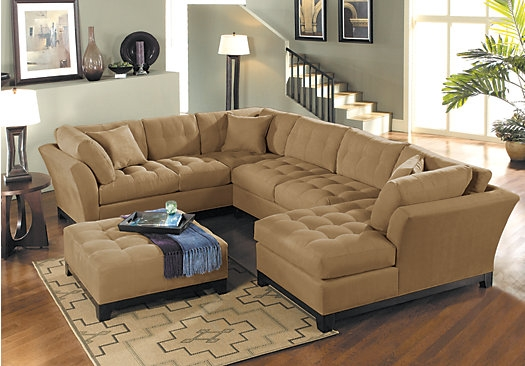Shopforacindycrawfordhome Metropolispeatright 4pc good with Cindy Crawford Home Sectional Sofa (Image 20 of 20)