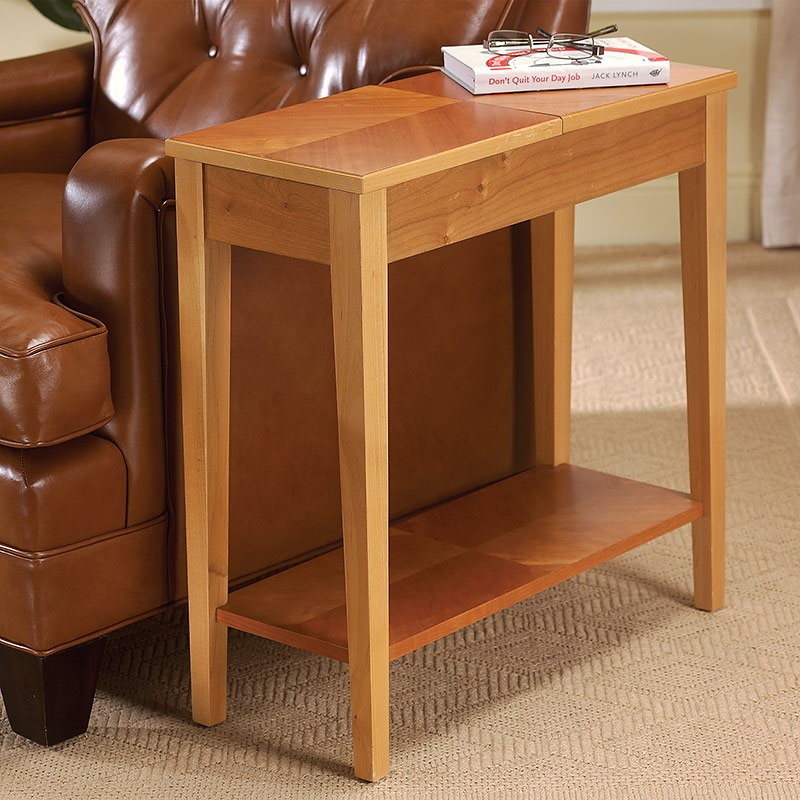 Side Table With Storage Square Wood Nightstand Side Table End nicely with Sofa Side Tables With Storages (Image 15 of 20)
