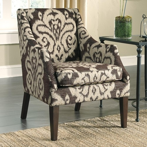 Signature Design Ashley Furniture Longdon Place 3290121 Chair nicely with Accent Sofa Chairs (Image 15 of 20)
