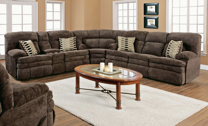 Simmons Rocker Recliner Menards Recliners Simmons Sectional Sofas properly throughout 3 Piece Sectional Sleeper Sofa (Image 13 of 20)