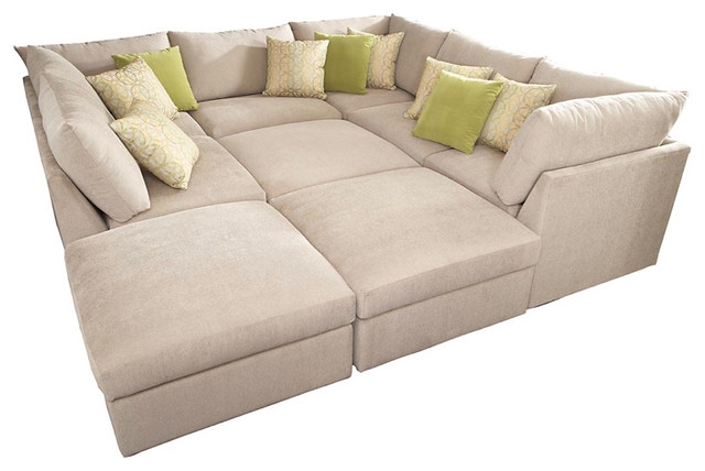 Simple Pit Sectional Couches Sofa 69 On Sofas Amazon With Design certainly with regard to Pit Sofas (Image 13 of 20)