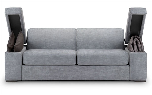 Simple Sofa Bed With Storage Ideas Certainly Pertaining To Storage Sofa Beds (View 14 of 20)