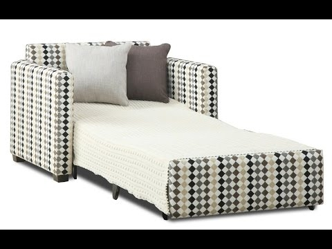 Single Sofa Bed Single Sofa Bed Chair Youtube properly pertaining to Single Chair Sofa Bed (Image 18 of 20)