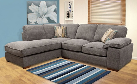 Sit And Sleep Comfortable On Elegant Corner Sofa Beds Designinyou certainly in Fabric Corner Sofa Bed (Image 19 of 20)