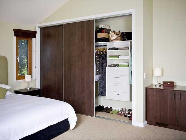30 Ideas Of Dark Wood Wardrobe Sliding Doors