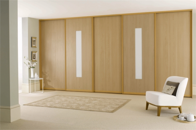 Sliding Wooden Wardrobe Doors Paisley Door Centre Upvc And effectively intended for Fitted Wooden Wardrobes (Image 25 of 30)