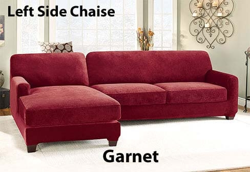 Slipcover Sectional Sofa Cover In Durable Stretch Pique clearly with regard to Durable Sectional Sofa (Image 17 of 20)