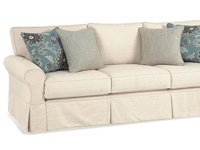 Slipcovered Furniture Washable Fabrics Cottage Home clearly throughout Washable Sofas (Image 10 of 20)