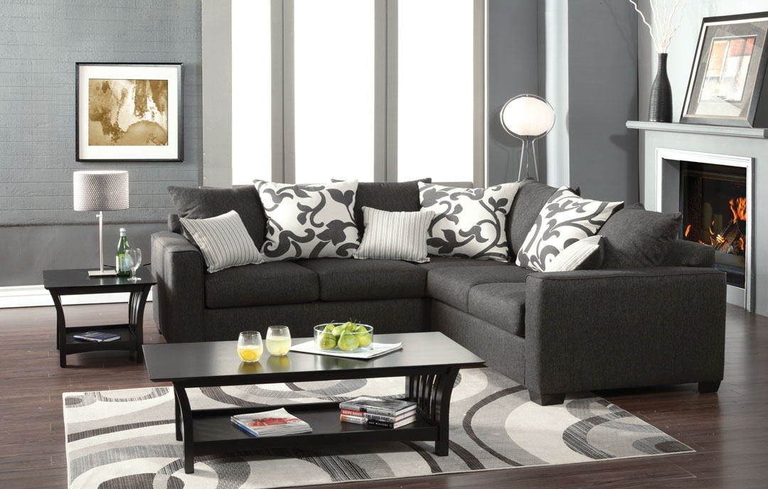 Sm3015 Furniture Of America perfectly with regard to American Made Sectional Sofas (Image 14 of 20)