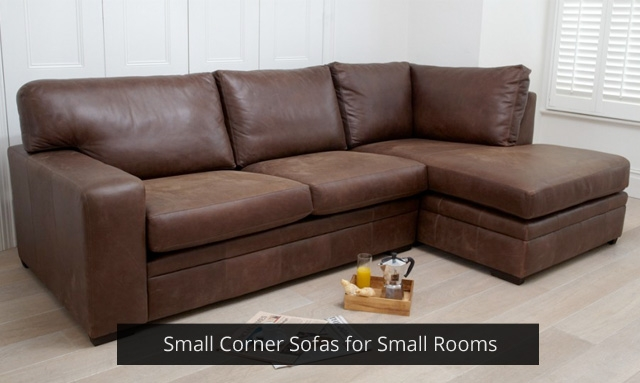 Small Corner Sofas For Small Rooms Darlings Of Chelsea Design Blog certainly with regard to Small Brown Leather Corner Sofas (Image 13 of 20)