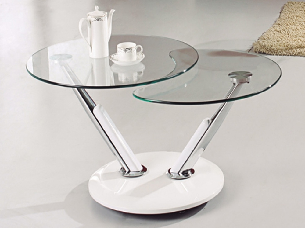 Small Glass Coffee Tables Homesfeed most certainly intended for Unique Small Glass Coffee Table (Image 2 of 30)