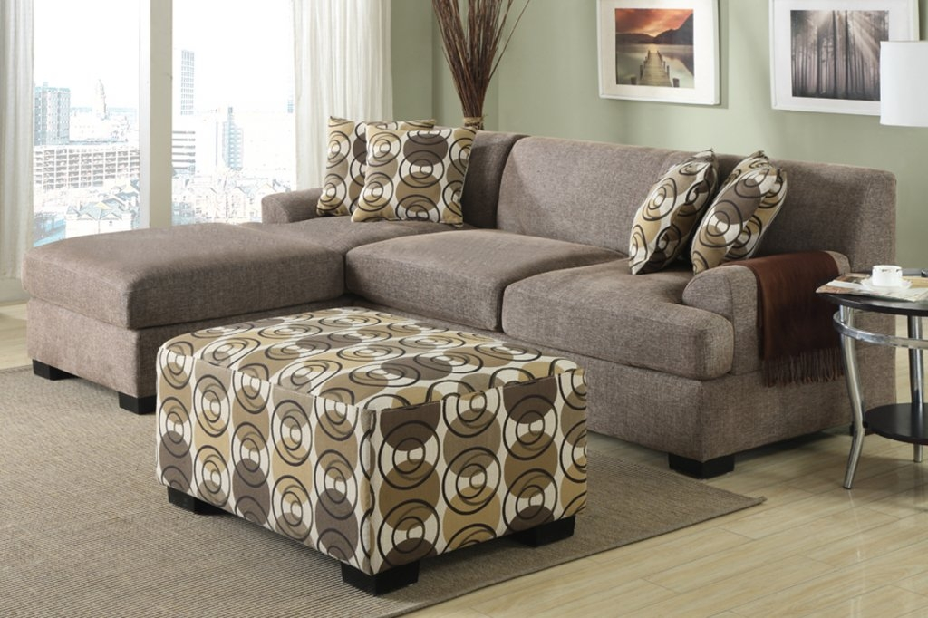 Small Sectional clearly regarding Small Sectional Sofa (Image 18 of 20)