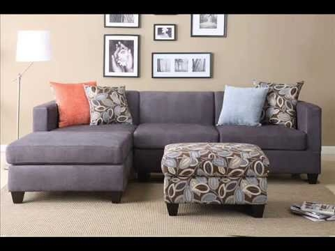 Small Sectional Sofa Small Sectional Sofa Apartment Youtube perfectly for Small Sectional Sofa (Image 20 of 20)