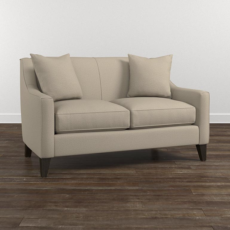 Sofa And Love Seat Sets Living Room Furniture Bassett Furniture clearly throughout Sofas and Loveseats (Image 11 of 20)