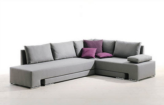 Sofa Bed Corner Contemporary Fabric Vento T Althaus very well with regard to Corner Couch Bed (Image 19 of 20)