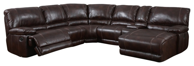 Featured Photo of 6 Piece Leather Sectional Sofa