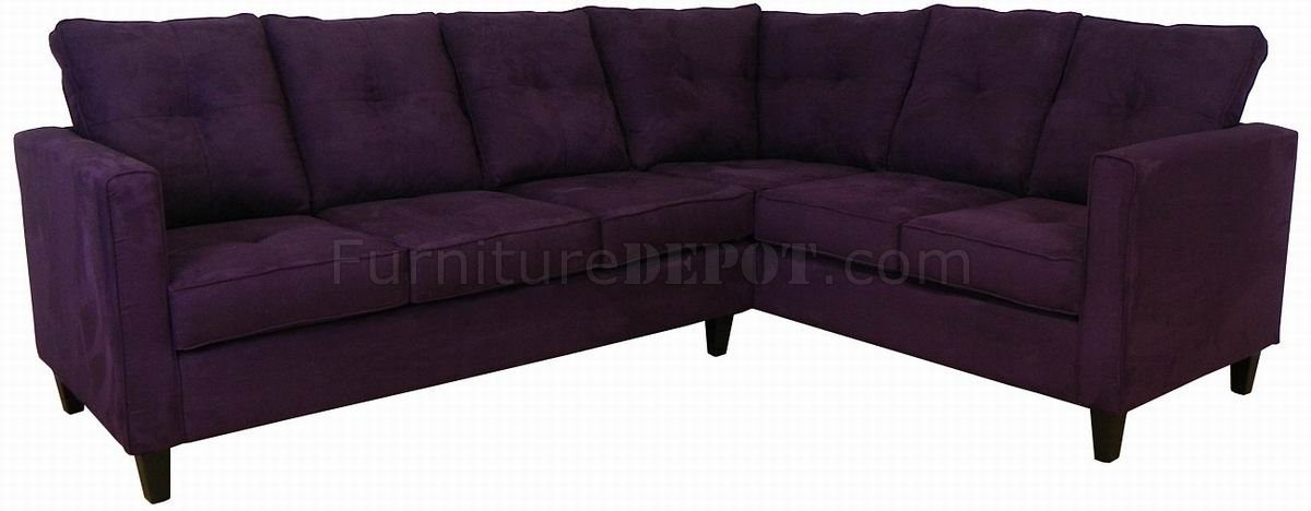 Featured Photo of Eggplant Sectional Sofa