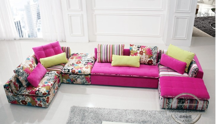 Sofa Beds Design Brilliant Modern Colorful Sectional Sofa Ideas clearly intended for Colorful Sectional Sofas (Image 18 of 20)