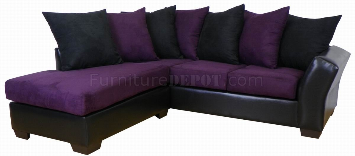Sofa Beds Design Cool Ancient Mccreary Sectional Sofa Ideas For perfectly pertaining to Eggplant Sectional Sofa (Image 14 of 20)