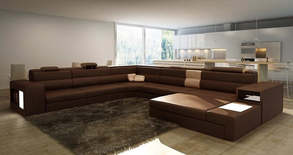 Sofa Beds Design Elegant Modern Largest Sectional Sofas Design very well in Long Modern Sofas (Image 20 of 20)