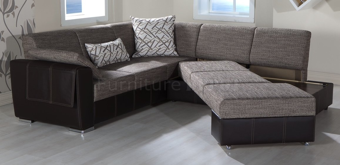 Sofa Beds Design Exciting Modern Convertible Sectional Sofas perfectly within Convertible Sectional Sofas (Image 17 of 20)