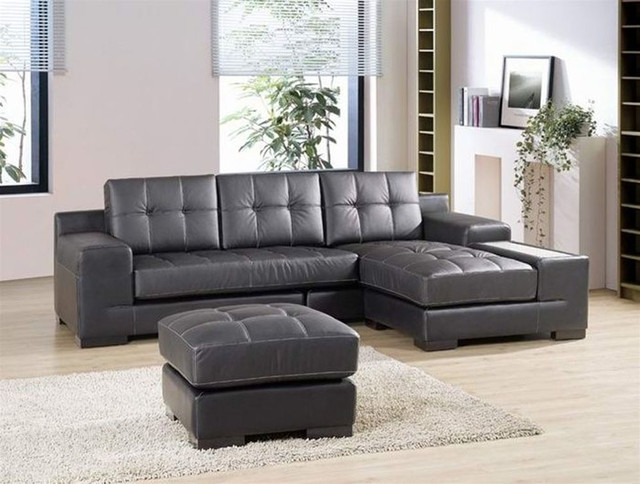 Sofa Beds Design Marvellous Ancient Gray Leather Sectional Sofas effectively for Gray Leather Sectional Sofas (Image 15 of 20)