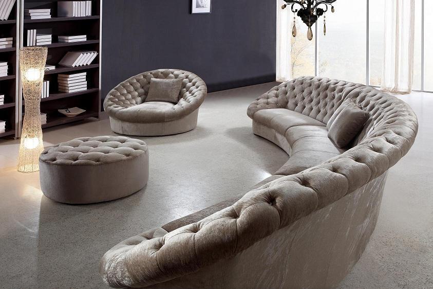 Sofa Beds Design Wonderful Modern Circular Sectional Sofas Design good regarding Circle Sectional Sofa (Image 19 of 20)
