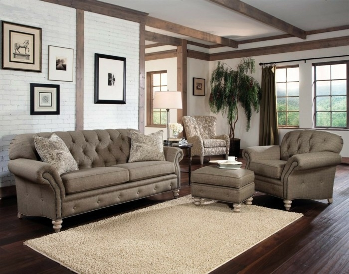 Sofa Bring A Piece Of Class In The Interior Design Chesterfield Nicely Pertaining To Chesterfield Sofa And Chairs (View 17 of 20)