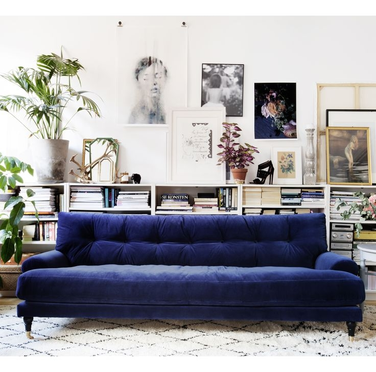 Sofa Glamorous Dark Blue Sofa Light Blue Leather Sofa Blue Couch Well Pertaining To Dark Blue Sofas (View 8 of 20)