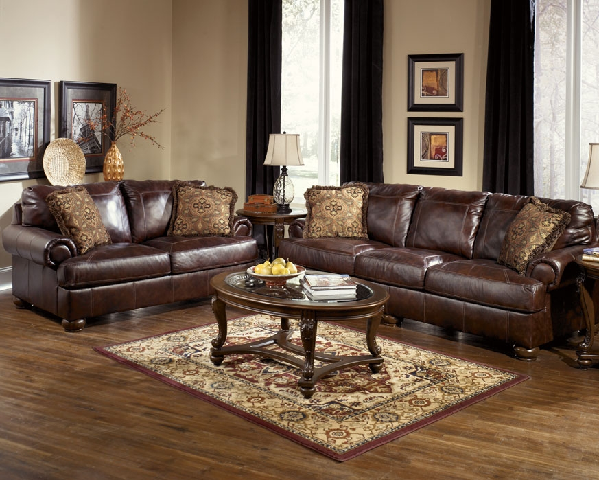 Sofa Glamorous Leather Couch And Loveseat 2017 Design Leather perfectly for Sofas and Loveseats (Image 15 of 20)