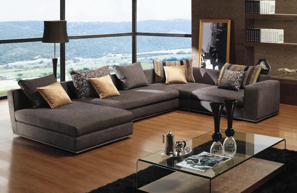 Sofa Outstanding Deep Sectional Sofa 2017 Ideas Large Sectional certainly regarding Deep Cushioned Sofas (Image 19 of 20)